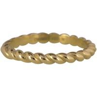 CHARMIN'S Charmins Ring Shiny CURVES Gold Stahl Stahl