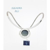 SQUADRA BLU Dutch Design Jewelry SQUADRA BLU KETTING MET CABOCHON