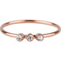 CHARMIN'S Charmin Ring Shine Bright 3.0 Stahl Rosegold Stahl