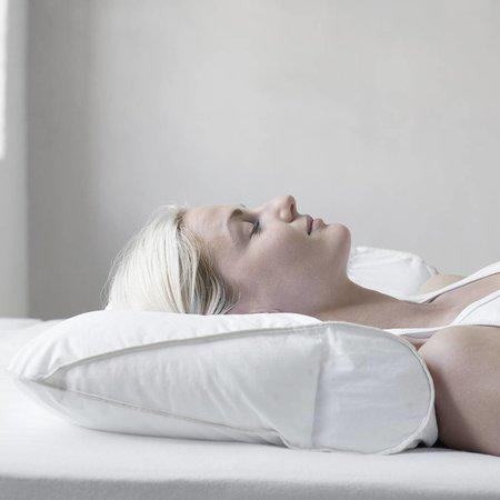Fossflakes Chiropractic Nackenstützkissen inkl. Satin Bezug
