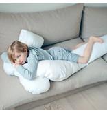 Fossflakes Sloop Comfort-U Junior wit katoensatijn