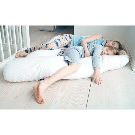 Fossflakes Superior Comfort-U Junior Body Kissen - inkl. Satin Bezug