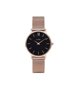 Cluse Minuit Mesh Rose Gold/ Black CL30016
