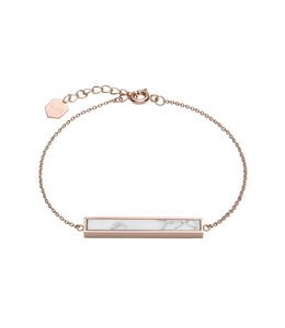 Cluse Idylle roségoldenes Armband mit Marmorstab