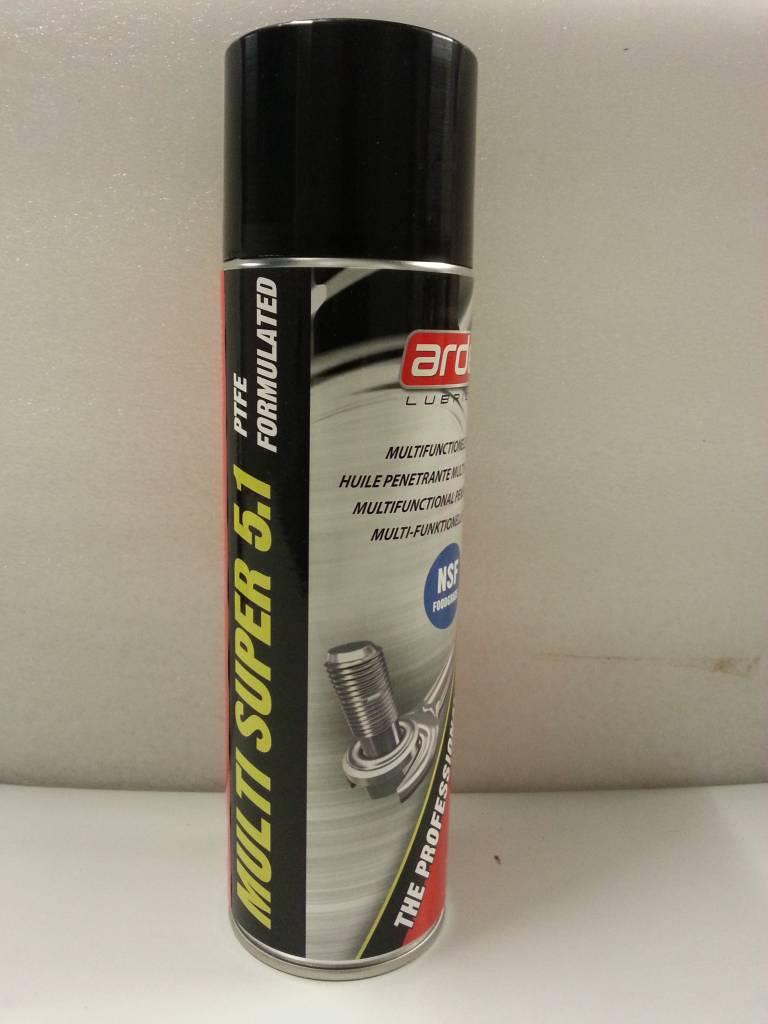 Multi Super 5.1 PTFE Penetrating Spray *500 ml kruipolie