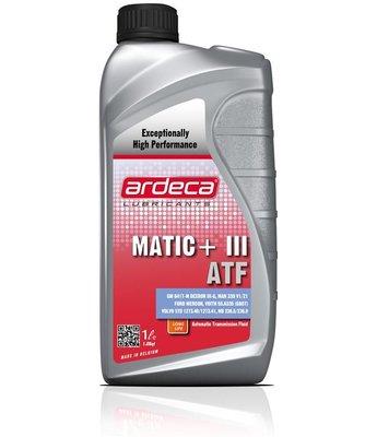 Matic + III ATF *1 liter ATF olie
