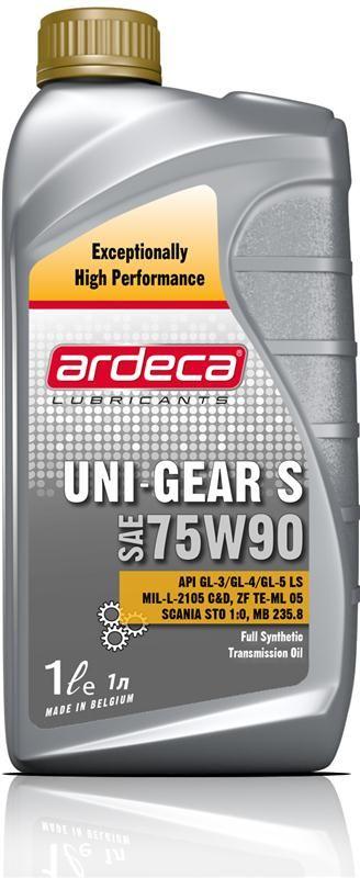 Uni-Gear S 75W90 * 1 liter versnellingsbak olie