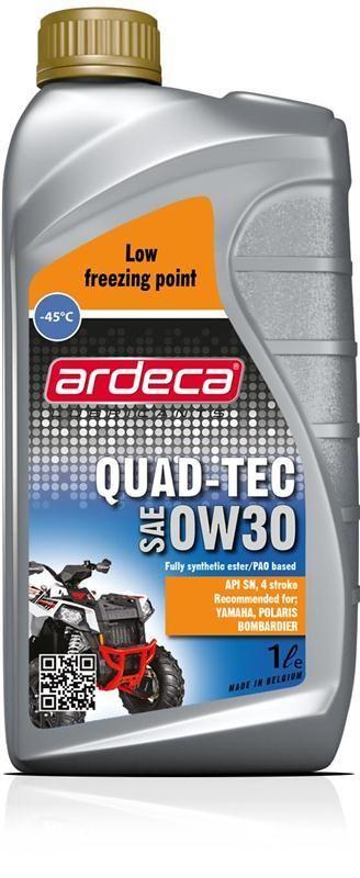 Quad-Tec 0W40 *20 liter ATV/Quad motorolie