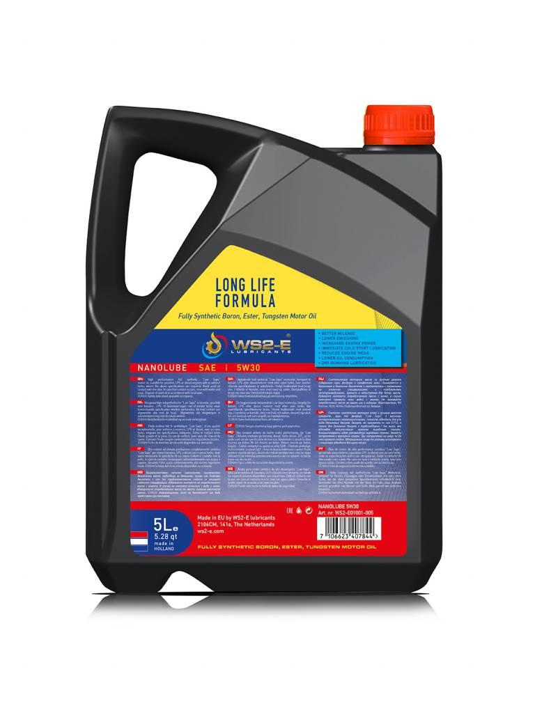 WS2-E Nanolube 5W30 *5 liter engine oil /EN