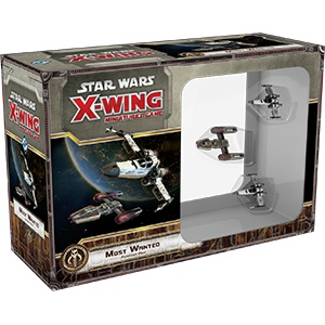 Star Wars X-wing Most Wanted Expansion Pack