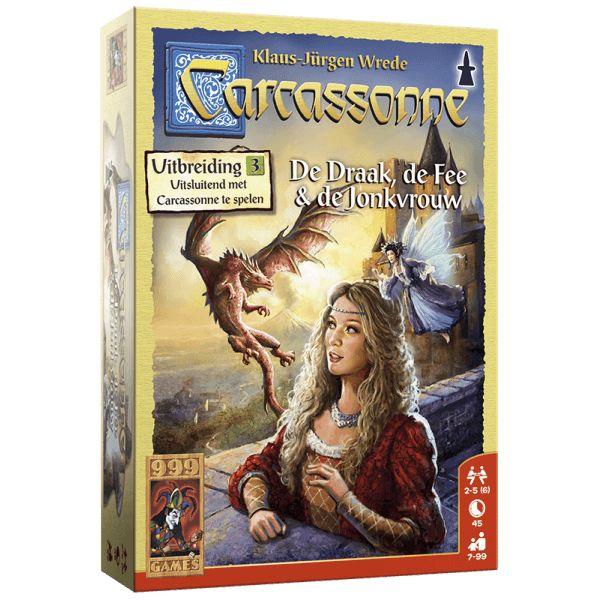 999 Games Carcassonne: De Draak, de Fee en de Jonkvrouw