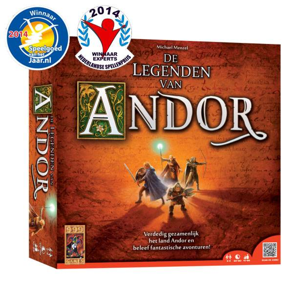999 Games De Legenden van Andor Basisspel