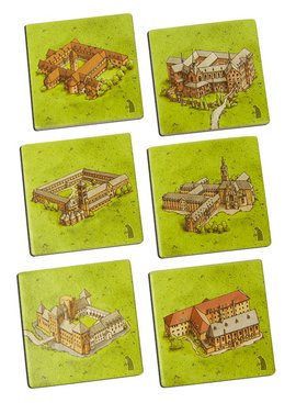 999 Games Carcassonne: De Kloosters