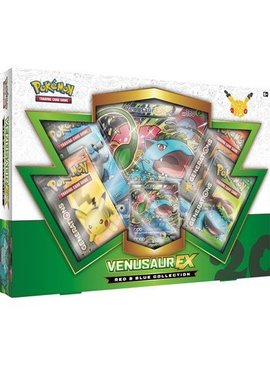Pokemon 20th anniversary Venusaur EX box