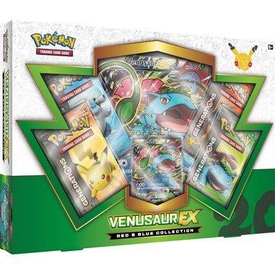 Pokemon 20th anniversary Venusaur EX box