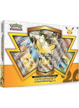 Pokemon 20th anniversary Pikachu EX box