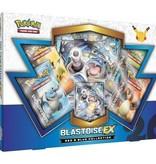 Pokemon 20th anniversary Blastoise EX box