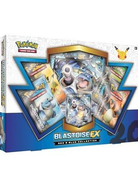 Pokemon 20th anniversary Blastoise EX box