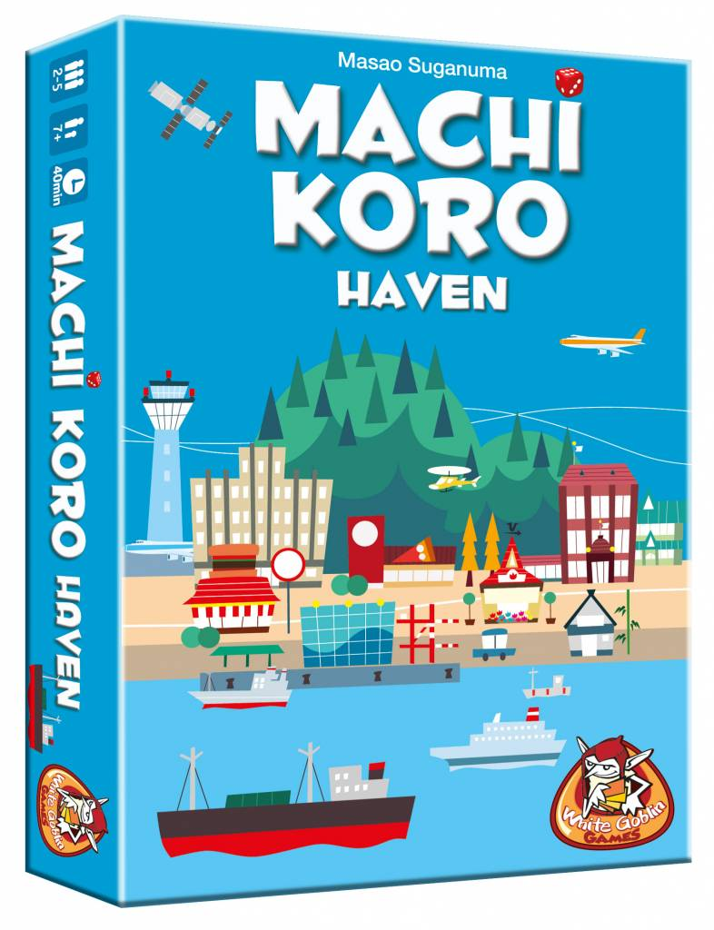 White Goblin Games Machi Koro: Haven