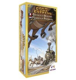 Colt Express Paarden en Postkoets