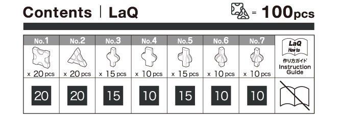 LaQ Free Style Zwart (100)