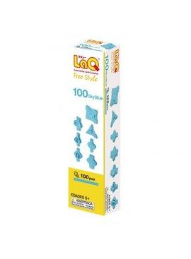 LaQ Free Style Lichtblauw (100)