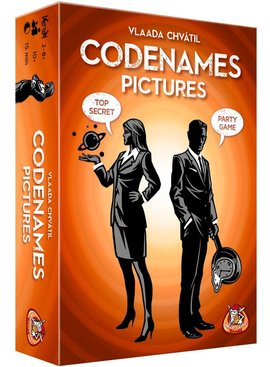 White Goblin Games Codenames: Pictures