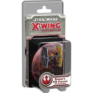 Star Wars X-Wing - Sabine's TIE fighter