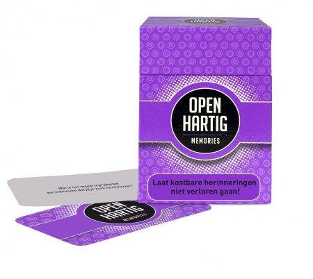 Open up! Openhartig Memories