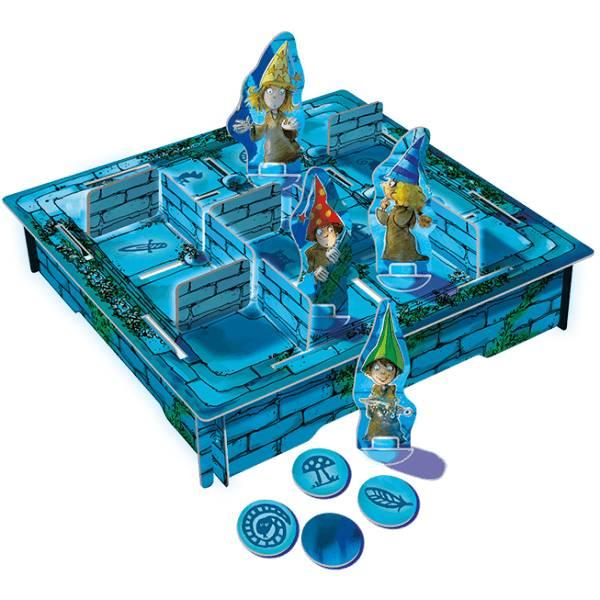 Drie magier spiele Het Magische Labyrint Tin