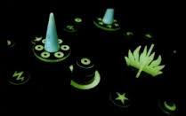 Drie magier spiele Nacht van de Tovenaars