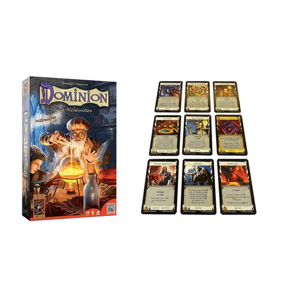 999 Games Dominion: De Alchemisten