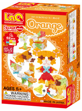 LaQ LaQ Sweet Collection Mini Orange