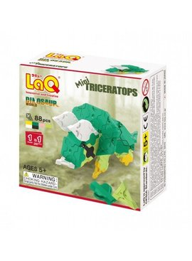 LaQ LaQ Dinosaur World Mini Triceratops