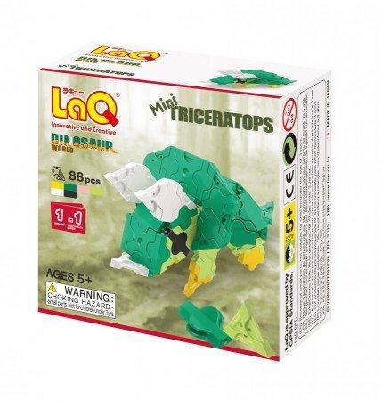 LaQ LaQ Dinosaur World Mini Triceratops