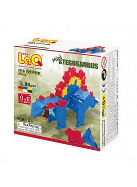LaQ LaQ Dinosaur World Mini Stegosaurus