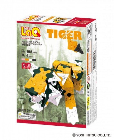 LaQ LaQ Animal World Tiger