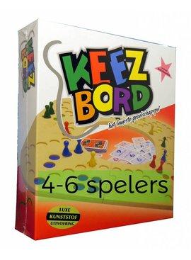 Keezbord Keezbord kunststof 4-6 spelers