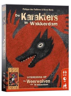 999 Games De Karakters in Wakkerdam: Weerwolven