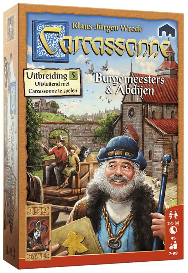 999 Games Carcassonne: Burgemeesters & Abdijen