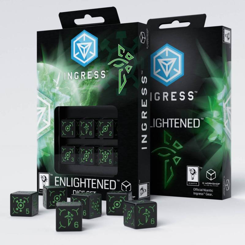 Ingress Enlightened 6D6 Dice