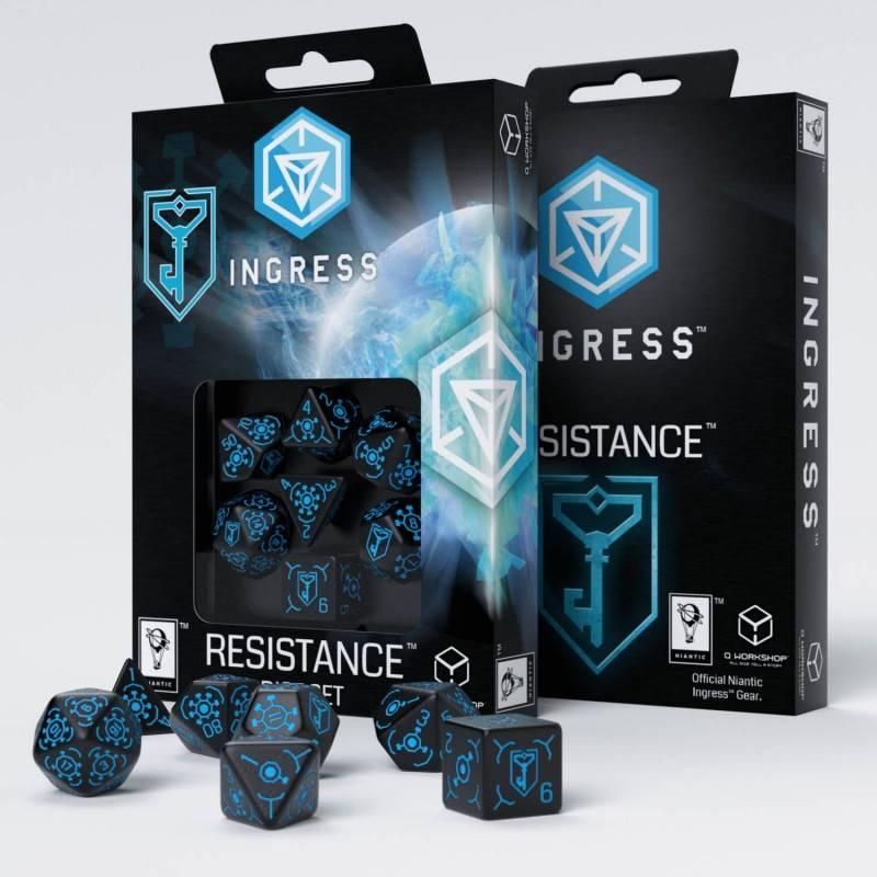 Ingress Resistance Dice Set (7)
