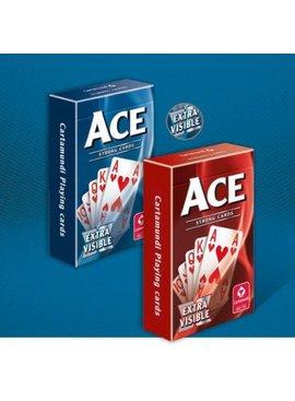 Ace Bridge Extra visible blauw - Speelkaarten