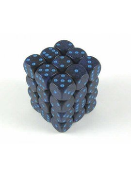 Cobalt Speckled D6 12mm Dobbelsteen Set (36 stuks)