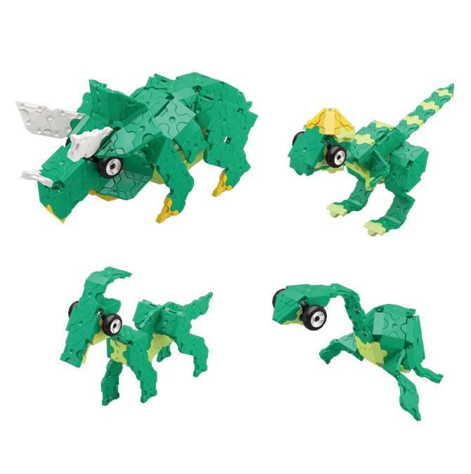 LaQ LaQ Dinosaur World Triceratops