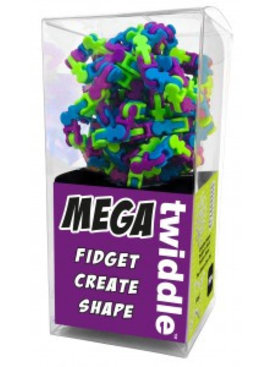 Mega Twiddle - multi color paars