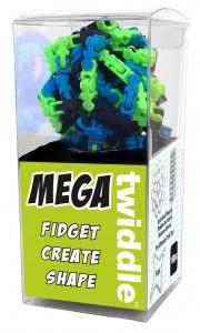 Mega Twiddle - multi color zwart