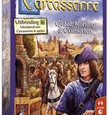 999 Games Carcassonne: Graaf, Koning & Consorten