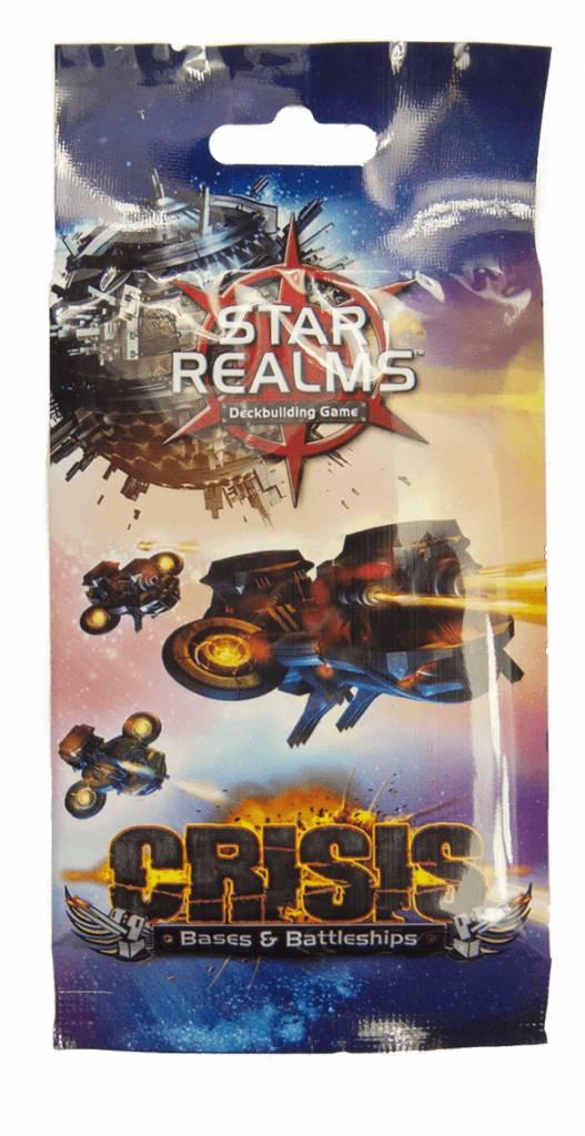 White Wizard Games Star Realms - Crisis: Bases & Battleship