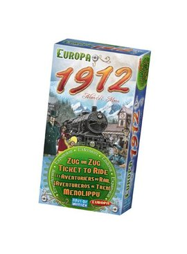 Days of Wonder Ticket to Ride - Europe 1912